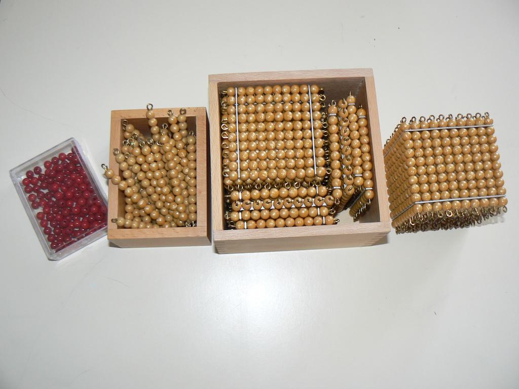 numération montessori