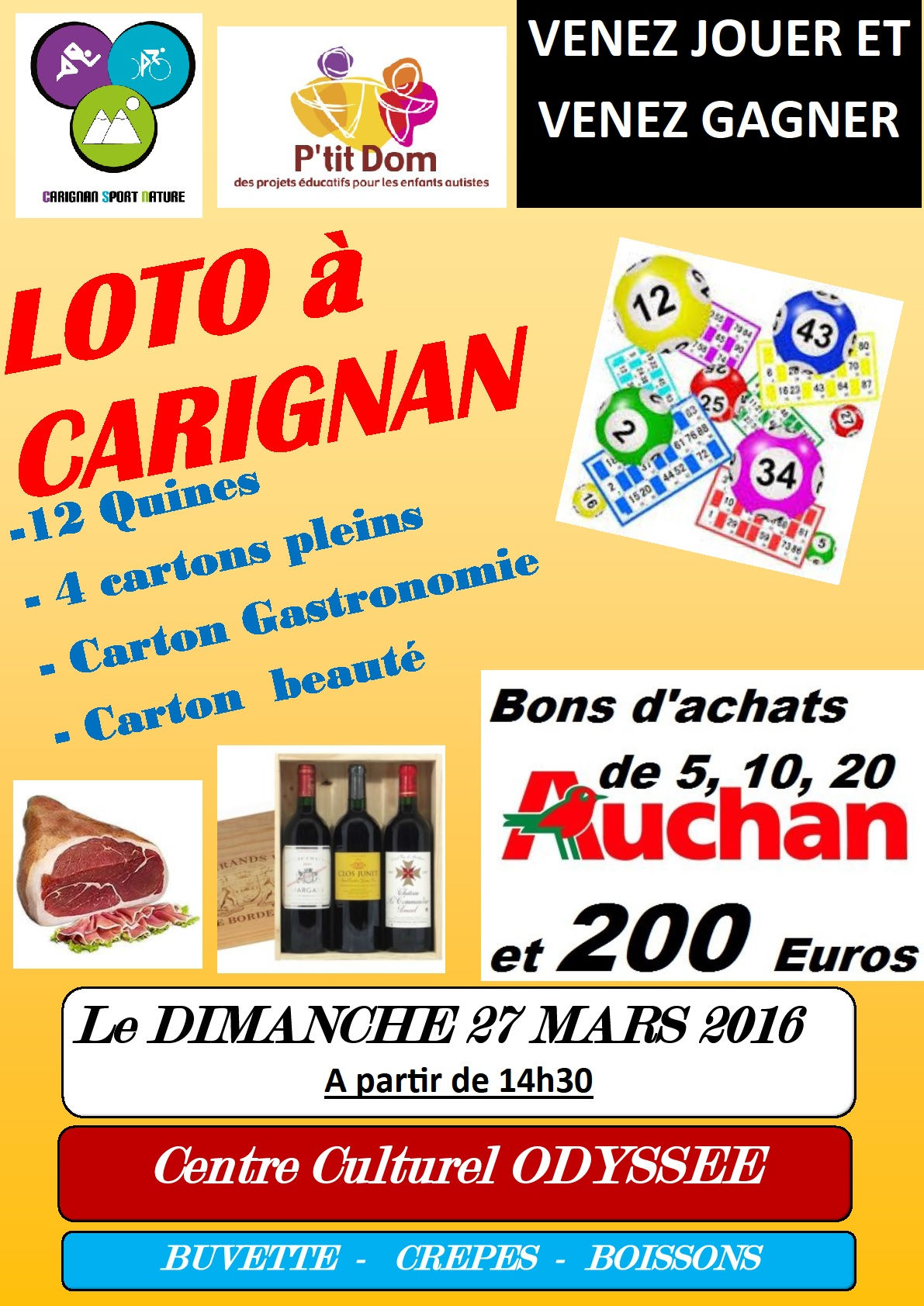 Loto CarignanSport Nature P'tit Dom